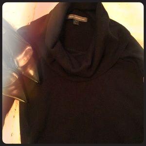 NWOT Black Cowl-Neck Sweater